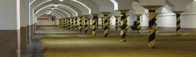 A view inside the traditional floor malting facility at Ferdinand Brewing and Malting. From Weyermann 2009.